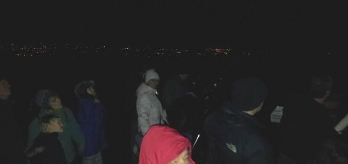 Stargazing visitors