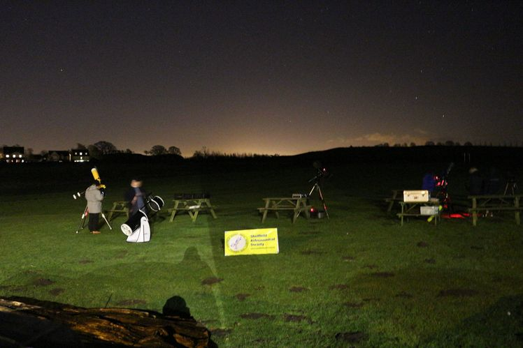 Setting up for Stargazing (Credit: Andrew Noble)